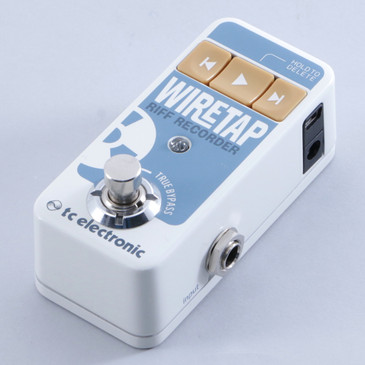 TC Electronic WireTap Riff Recorder Looper Guitar Effects Pedal P-04046
