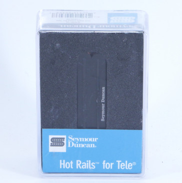 NEW! Seymour Duncan STHR-1B Hot Rails Telecaster Bridge Guitar Pickup Black