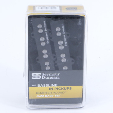 Seymour Duncan SJB-3S Quarter Pound Jazz Bass Pickup Set Black