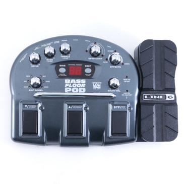 Line 6 Bass Floor Pod  Bass Multi-Effect Pedal *No Power Supply* P-04120