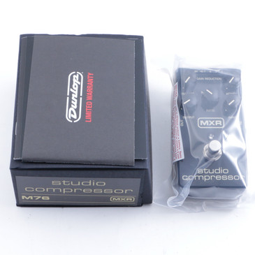NEW! MXR M76 Studio Compressor Bass Guitar Effects Pedal
