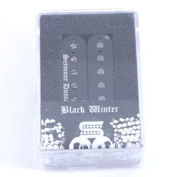 Seymour Duncan Black Winter Bridge Humbucker Guitar Pickup Black