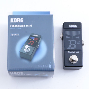 NEW! Korg Pitchblack Mini Pedal Tuner Black