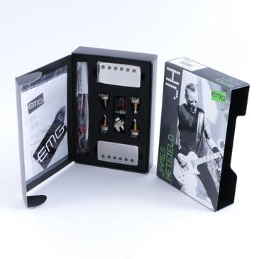 EMG Metal Works James Hetfield Active JH-B / JH-N Pickup Set Chrome