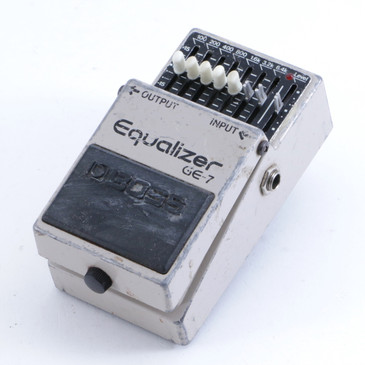 Boss GE-7 Equalizer Guitar Effects Pedal P-04214