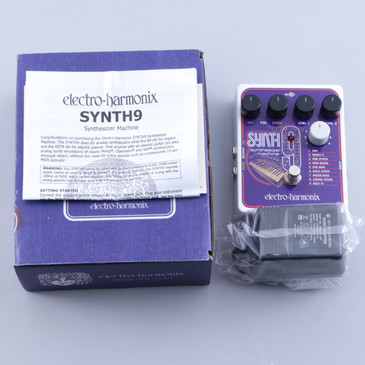 OPEN BOX Electro-Harmonix SYNTH9 Synthesizer Machine Guitar Effects Pedal