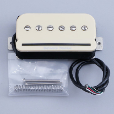 Open Box Seymour Duncan SHPR-1 P-Rails Humbucker Neck Guitar Pickup Cream