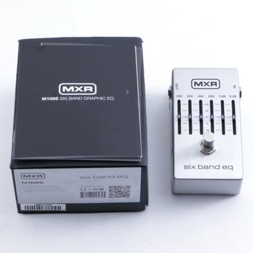 OPEN BOX MXR M109S Six Band EQ Guitar Pedal