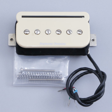 Open Box Seymour Duncan SHPR-1 P-Rails Humbucker Bridge Guitar Pickup Cream