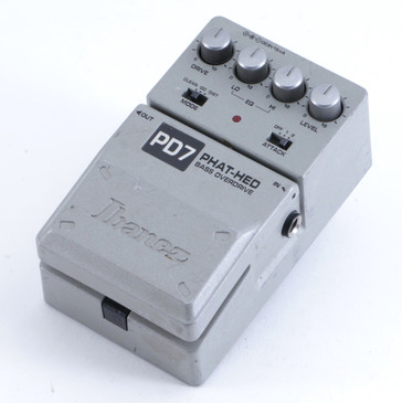 Ibanez PD7 Phat-Hed Overdrive Bass Effects Pedal P-04370