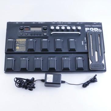 Line 6 Pod XT Live Multi-Effects Pedal & Power Supply P-04407