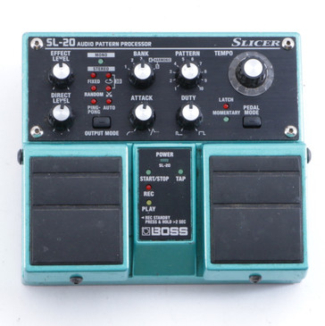 Boss SL-20 Slicer Pattern Processor Guitar Effects Pedal P-04438