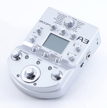 Zoom A3 Guitar Multi-Effects Pedal P-04432
