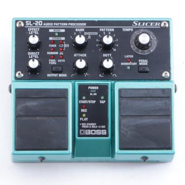 Boss SL-20 Slicer Pattern Processor Guitar Effects Pedal P-04436