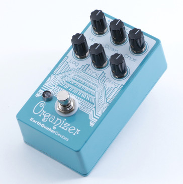 Earthquaker Devices Organizer Polyphonic Organ Guitar Effects Pedal P-04462