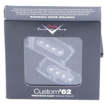 Fender Custom Shop '62 P-Bass Guitar Pickup Black