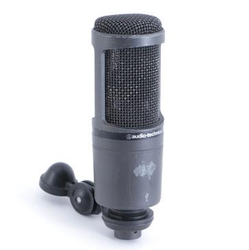 Audio Technica AT2020 USB Condenser Cardioid Microphone MC-2393