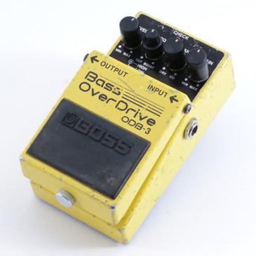 Boss ODB-3 Bass Overdrive Guitar Effects Pedal P-04499