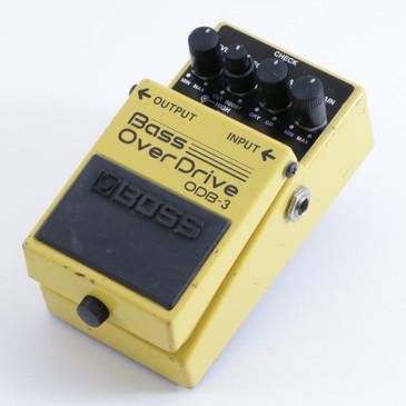 Boss ODB-3 Bass Overdrive Guitar Effects Pedal P-04500