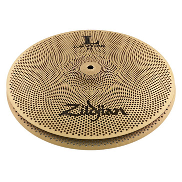 "Zildjian L80 Low Volume 14"" Hi-Hat Cymbal Pair"