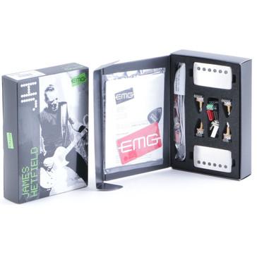 EMG Metal Works James Hetfield Active Pickup Set Brushed Brushed Chrome