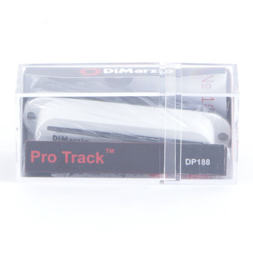 Dimarzio DP188 Pro Track Bridge Single Coil Rail Guitar Pickup White