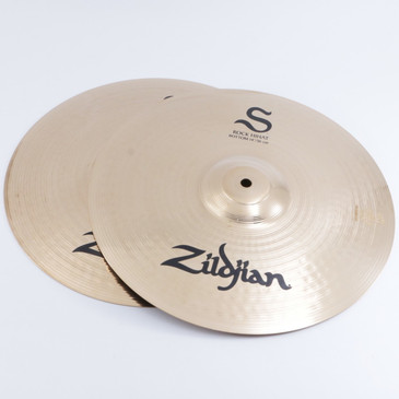 "Zildjian S Family Rock 14"" Hi-Hat Cymbal Pair"