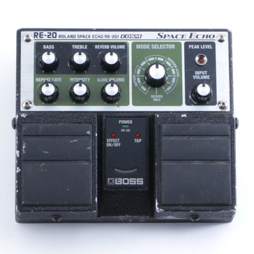 Boss RE-20 Space Echo Delay Guitar Effects Pedal P-04558