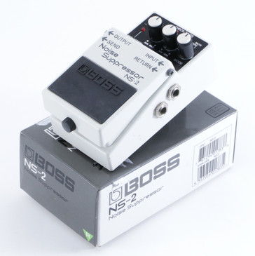 Boss NS-2 Noise Suppressor Noise Gate Guitar Effects Pedal w/ Box P-04541