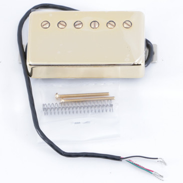 Open Box Seymour Duncan Saturday Night Special Neck Humbucker Guitar Pickup Gold