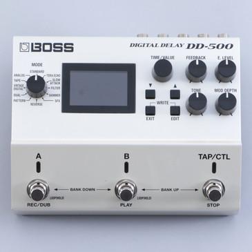 Boss DD-500 Digital Delay Guitar Effects Pedal P-04610