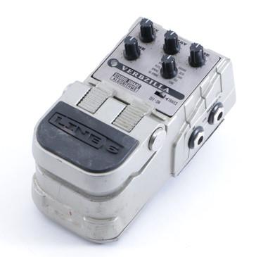Line 6 Verbzilla Reverb Guitar Effects Pedal P-04650