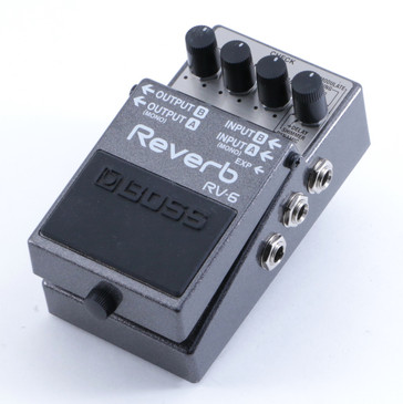 Boss RV-6 Reverb Guitar Effects Pedal P-04630