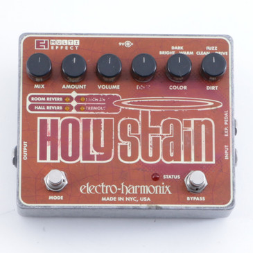 Electro-Harmonix Holy Stain Guitar Multi-Effects Pedal P-04662