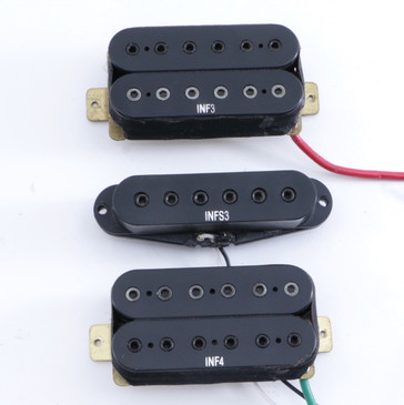 Ibanez INF4, INFS3 & INF3 Set HSH Guitar Pickup PU-8999