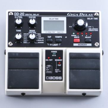 Boss DD-20 Giga Delay Guitar Effects Pedal P-04691