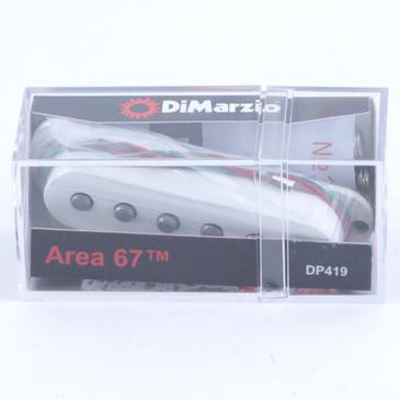 Dimarzio DP419 Paul Gilbert Area 67 Middle Stratocaster Guitar Pickup White