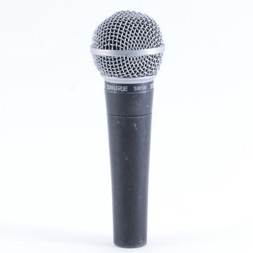 Shure SM58 Dynamic Cardioid Microphone MC-2424