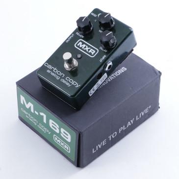 MXR M169 Carbon Copy Delay Guitar Effects Pedal w/ Box P-04751