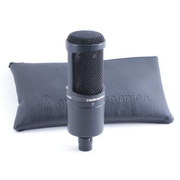Audio Technica AT2020 Condenser Cardioid Microphone MC-2439