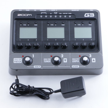 Zoom G3 Multi-Effects Pedal & Power Supply P-04761