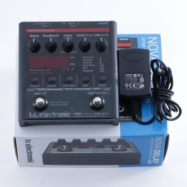 TC Electronic ND-1 Nova Delay Guitar Effects Pedal & Power Supply P-04762