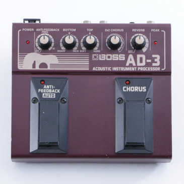 Boss AD-3 Acoustic Instrument Processor Guitar Effects Pedal P-04756