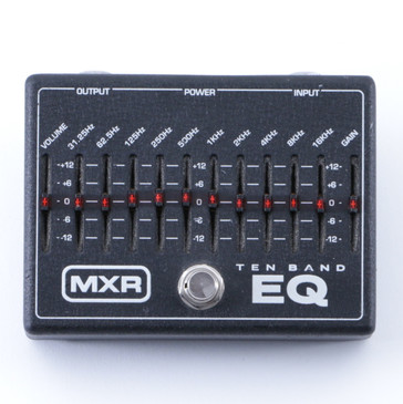 MXR M108 Ten Band EQ Graphic Equalizer Guitar Effects Pedal P-04793