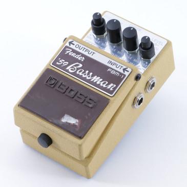 Boss FBM-1 Fender '59 Bassman EQ / Overdrive Guitar Effects Pedal P-04774