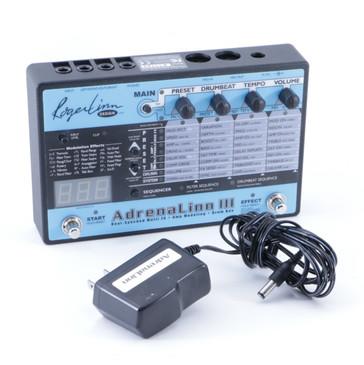 Roger Linn Adrenalinn III Guitar Multi-Effects Pedal & Power Supply P-04804