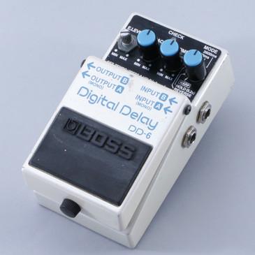 Boss DD-6 Digital Delay Guitar Effects Pedal P-04780