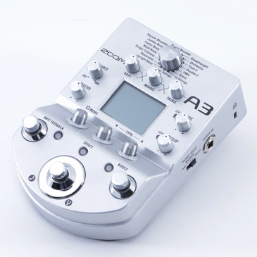 Zoom A3 Acoustic Guitar Effects Pedal P-04795