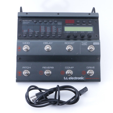 TC Electronic Nova System Guitar Multi-Effects Pedal & Power Supply P-04811