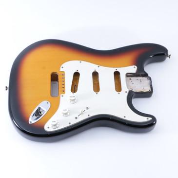 1993 Fender Mexico Standard Stratocaster Sunburst Alder Guitar Body BD-5070